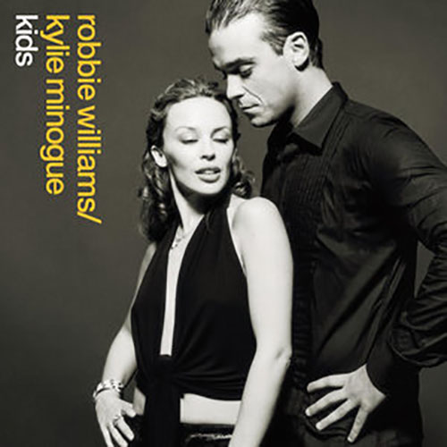 Kids Robbie Williams and Kylie Minogue